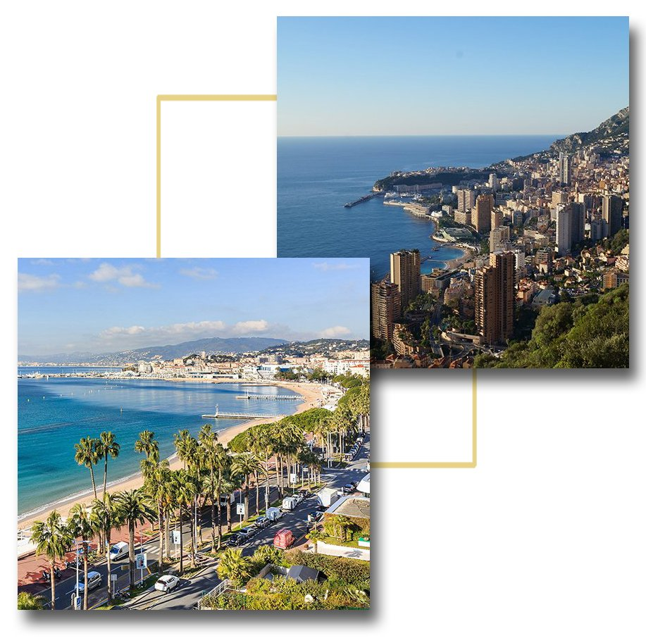 Car transfer, Monaco - Cannes, rates
