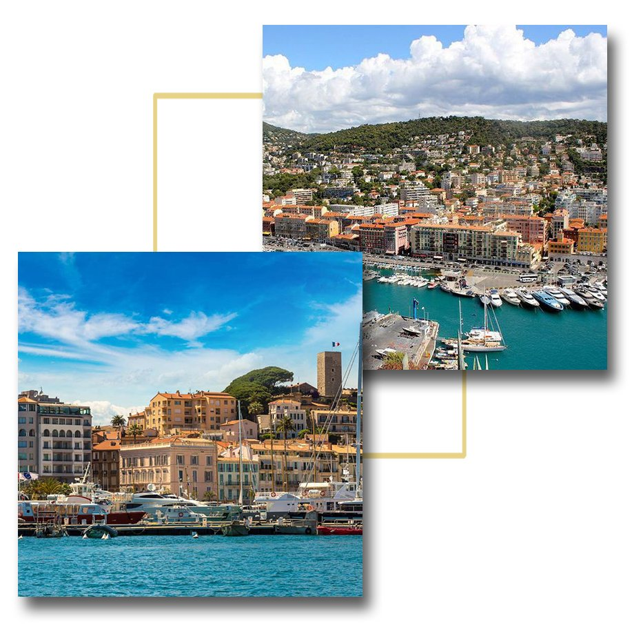 Car transfer, Nice airport - Cannes, rates